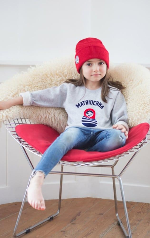 fille portant des vêtements de la marque French Disorder