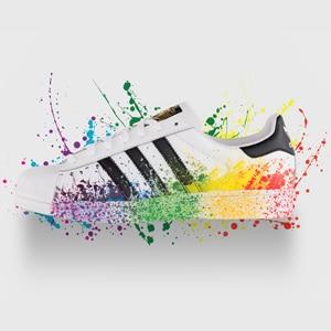"""chaussure Adidas, modèle """"Superstar"""" , pour enfants"""